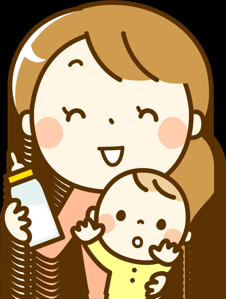 食材宅配サービスについて話す赤ちゃんママイメージ1