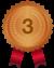 食材宅配総合ランキング第3位の銅メダル