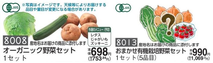 コープデリ 野菜セット