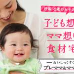 子育てママさん必見!オイシックスの便利で安全な赤ちゃん・幼児向け商品(離乳食)の紹介