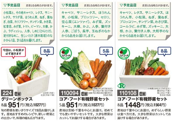 パルシステム 野菜セット