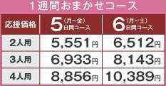 ヨシケイのプチママコースの価格・値段
