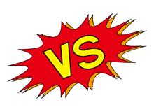 食材宅配2社を徹底的に比較するイメージ