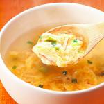 コープデリのたまごスープはふわふわです