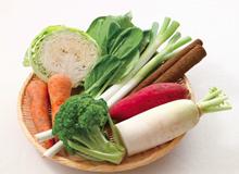 食材宅配の野菜の安全性を比較するイメージ