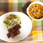 ヨシケイ体験談(ブログ)『牛サイコロステーキ』を作ってみました!