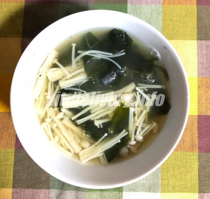 ヨシケイ利用 えのきスープ