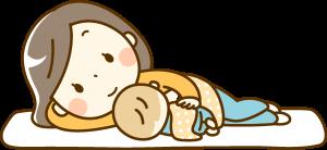 赤ちゃんがいる人が食材宅配を利用するイメージ