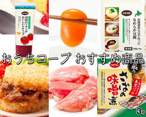 食材宅配 おうちコープのおすすめ商品 6品