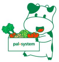 食材宅配サービスパルシステムのロゴ