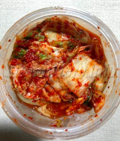 パルシステムの産直白菜キムチ
