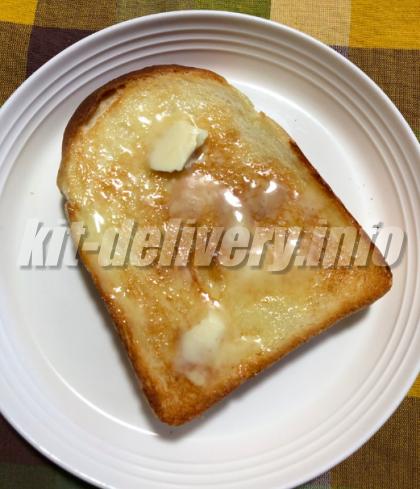 パルシステムのこだわり酵母食パンを焼いたイメージ