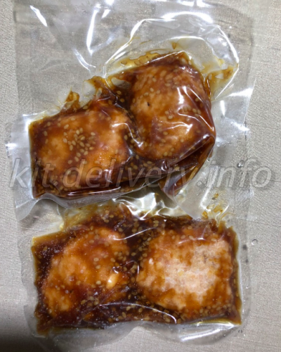 おうちコープのはぐくみ鷄照り焼きチキン
