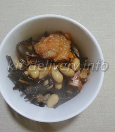コープデリの大豆で作ったひじきの写真
