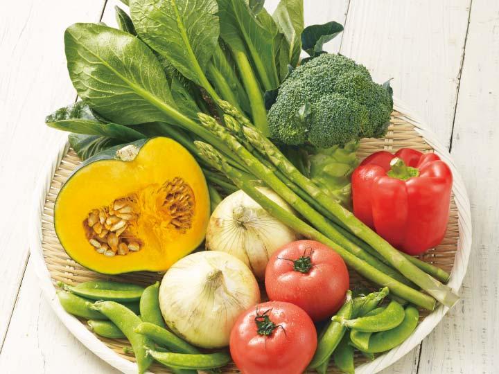 大地を守る会の野菜イメージ